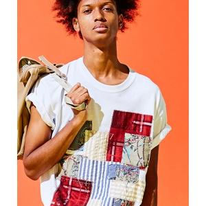 SEVESKIG セヴシグ PANEL T-SHIRT Tシャツ fusion 08