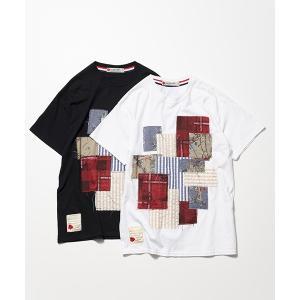 SEVESKIG セヴシグ PANEL T-SHIRT Tシャツ fusion 09