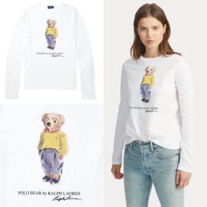 商品名:Polo Bear Striped Cotton Tee ra-471924  ポロベアがデ...