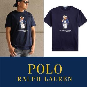 商品名:Polo Ralph Lauren Classic-Fit Captain Bear T-S...