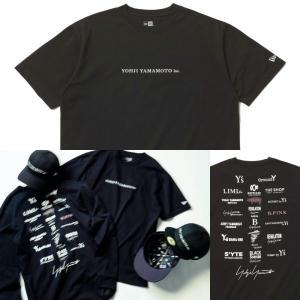 予約商品 ヨウジヤマモト ニューエラ Yohji Yamamoto NEW ERA ロゴ Tシャツ ...