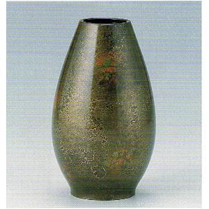 銅製花瓶・華A・1号色・日本製・代引き不可・工房直送品74-18
