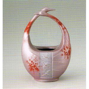合金製花瓶・和み・日本製・代引き不可・工房直送品85-07