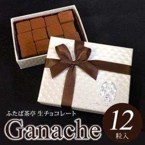 【ギフト包装】 生チョコレート (12粒入)ビタースイート...