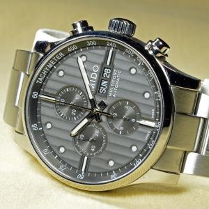 [プレミアム・プレオウンド] ミドー メンズクロノグラフ腕時計 MULTIFORT MIDO [FutabaOnline]|futaba-online