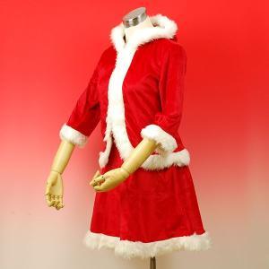 【クリスマス用品】ベーシックフードサンタ フード付き【領収書...