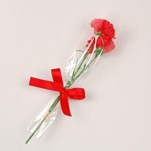 【母の日の造花】贈答用カーネーション ※シール無し【領収書発...
