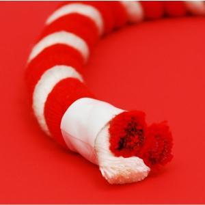 【お祭り用品】紅白紐(ひも)直径34mm 1m当たり【領収書発行】