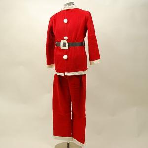 【クリスマス用品】サンタクロースコスチューム 帽子・ひげ・ベ...