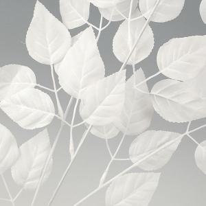【冬の装飾】ホワイトリーフ小枝【領収書発行】の詳細画像1