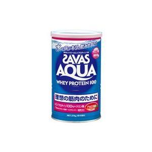ザバス アクアホエイプロテイン100 アセロラ風味(無果汁) 378g(約18食分)*配送分類:1|futaba28
