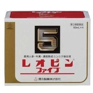 レオピンファイブw 4本入り 240ml 【第3類医薬品】*配送分類:1|futaba28