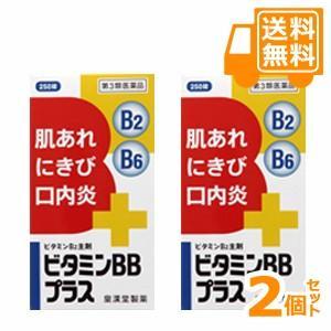 ビタミンBBプラス 250錠×2個セット【第3類医薬品】*配送分類:1 futaba28