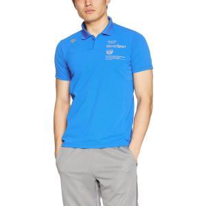 [デサント] タフポロライト ポロシャツ MOVESPORTS DMMLJA72 メンズ ブルー 日...
