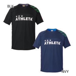アスレタ ATHLETA ジュニア カラープラクティスシャツ 半袖 プラシャツ 02312J サッカー フットサル 練習着 futaba