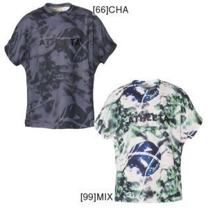 アスレタ ATHLETA 半袖 プラクティスシャツ プラクティス 柄Tシャツ 02315  サッカーウェア フットサルウェア futaba