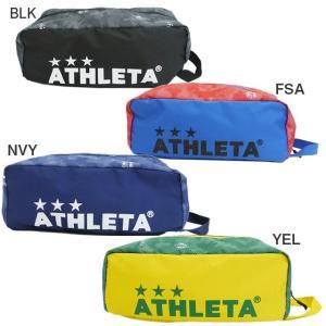 サッカー フットサル シューズバッグ メーカー:アスレタ(ATHLETA) カラー:【BLK】 【F...