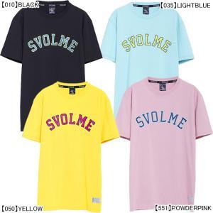 【ネコポス選択可】 スボルメ SVOLME アーチロゴ Tシャツ 1193-33300 サッカー フ...