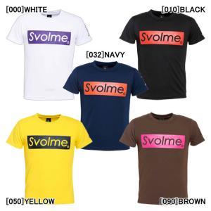 【ネコポス選択可】 スボルメ SVOLME JR BOX ロゴ ドライTシャツ 1201-58400...