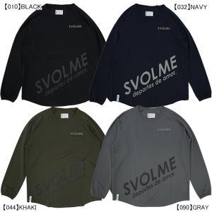 スボルメ SVOLME DRY メッシュ ロングスリーブ Tシャツ 183-00710 サッカー フ...