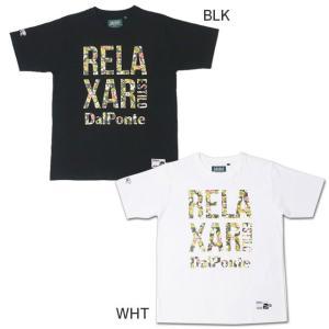 ダウポンチ dalponte 半袖 Tシャツ フラワーロゴTシャツ リラクシャー メンズ DPZ-RX91|futaba