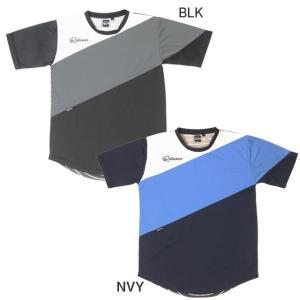 【ネコポス対応可】ダウポンチ dalponte サッカーウェア 半袖 プラクティスシャツ REAXAR リラクシャー ミックスボーダープラシャツ DPZRXG005 メンズ|futaba