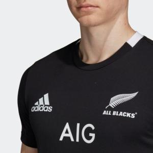 ラグビー ニュージーランド代表 オールブラックス 1st レプリカ Tシャツ EKX73-CW3135