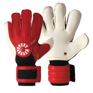 ゴールキーパーグローブ メーカー:ガビック(GAVIC) カラー:RED/WHT  パーム/厚 バッ...