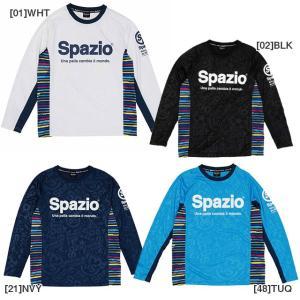 子供用 長袖 プラクティスシャツ 練習着 Tシャツ メーカー:スパッツィオ(spaxio) カラー:...