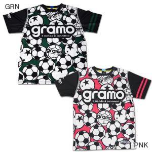 サッカー フットサル 半袖 プラシャツ メーカー:グラモ(gramo) カラー:【GRN】 【PNK...