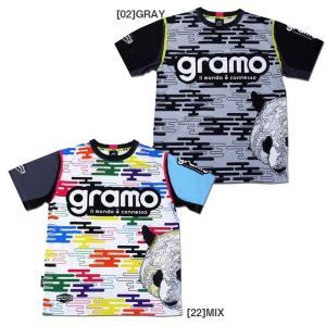 グラモ gramo 半袖 プラクティスシャツ foggy P-034 futaba