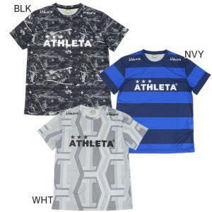 アスレタ ATHLETA 半袖 プラクティスシャツ 総柄 プラTシャツ SP-166