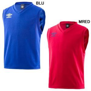 サッカー フットサル 子供用 ノースリーブ インナーシャツ 練習着 120サイズから メーカー:アン...