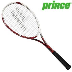 プリンス prince 軟式 ソフトテニス ラケット ツアーチーム V 7E016 ホワイト×レッド