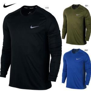 ナイキ NIKE 833594 ランニングウェア メンズ 長袖 Tシャツ|futabaathlete