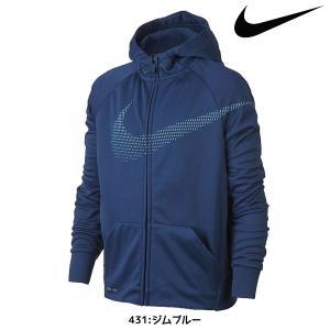 Nike Therma素材が悪天候にも対応。 フルジップデザインとラグランスリーブで、トレーニング中...