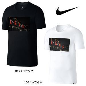【数量限定 超特価】 ナイキ NIKE ジョーダン FLIGHT PHOTO S/S Tシャツ 878382 メンズ バスケットボール Tシャツ 半袖 JORDAN フォトT グラフィック バスケ