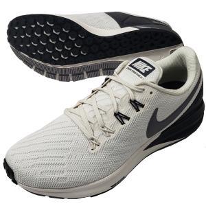 【即出荷】 ナイキ NIKE メンズ ランニングシューズ エア ズームストラクチャー22 AA1636-001 ジョギング ラントレ 練習 部活 通学 運動靴 白 ホワイトの画像