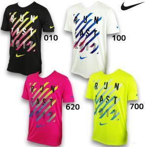 ナイキ NIKE メンズ ランニング DRI-FIT サマーキャンプ 2017 Tシャツ AJ9667 ランニングアパレル 半袖 ジョギング マラソン|futabaathlete