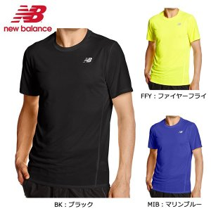 ニューバランス new balance アクセレレイトショートスリーブ Tシャツ AMT53061 ランニング メンズ 半袖|futabaathlete