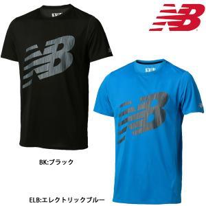 ニューバランス New Balance メンズ ランニングシャツ アクセレレイトショートスリーブグラフィックTシャツ AMT71066|futabaathlete