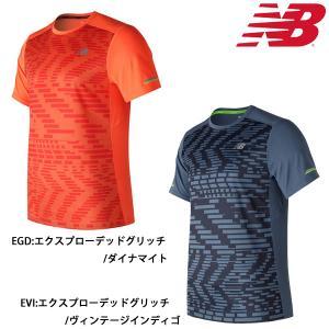 2017年秋冬NEWモデル ニューバランス New Balance メンズ NB ICE ショートスリーブグラフィックTシャツ AMT71224|futabaathlete