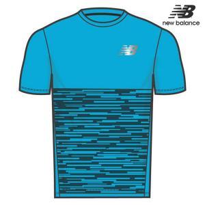b848609fc06e5 ニューバランス NB Hanzo ショートスリーブグラフィックTシャツ AMT93192 メンズ ランニングシャツ 半袖 吸汗速乾 ジョギング  マラソン ハンゾー