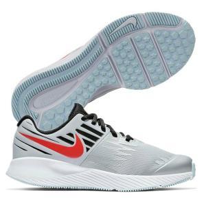 【数量限定 超特価】 ナイキ NIKE スター ランナー SD GS AR0200-001 ジュニア ランニングシューズ スニーカー 運動靴 白 黒 セール|futabaathlete