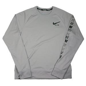 【数量限定 超特価】 ナイキ NIKE ペーサー プラス GX HBR クルー AT7851-059 メンズ ランニングウェア Tシャツ 長袖 通気性 グレー セール