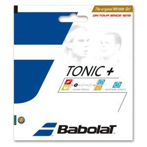 バボラ 硬式 テニス ストリングス ガット トニックプラス ボールフィール BA201026