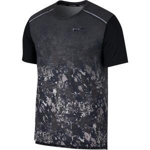 【数量限定 超特価】 ナイキ NIKE RISE 365 WRプリンテッドS/Sトップ BQ8326-451 メンズ ランニングシャツ 半袖 吸汗速乾 ジョギング マラソン セール