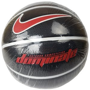 ナイキ NIKE ドミネート8P BS3004-095 バスケットボール 5〜7号球 小学生〜大人 黒 赤|futabaathlete
