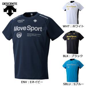 デサント DESCENTE ムーブスポーツTシャツ DAT-5731 メンズ スポーツウェア 半袖Tシャツ|futabaathlete