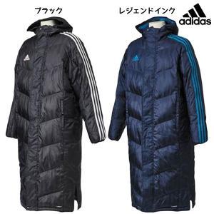 アディダス adidas SHADOW ロングコート DLK12 サッカー メンズ ベンチコート 観戦 防寒
